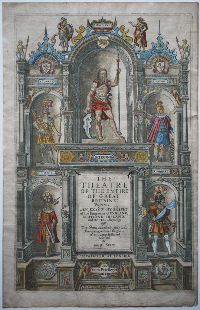 Title Page - Theatre of the Empire of Great Britaine