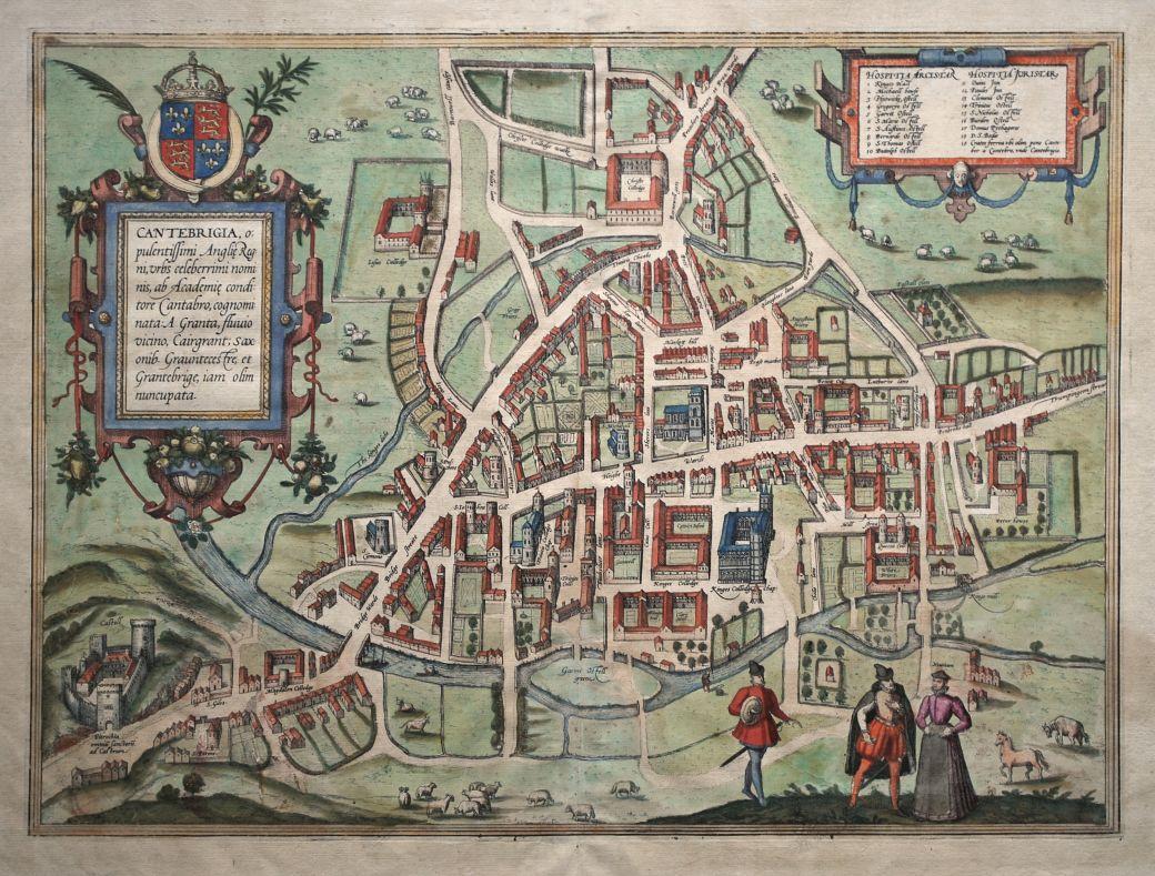Cantebrigia, Opulentissimi Angliae Regni…