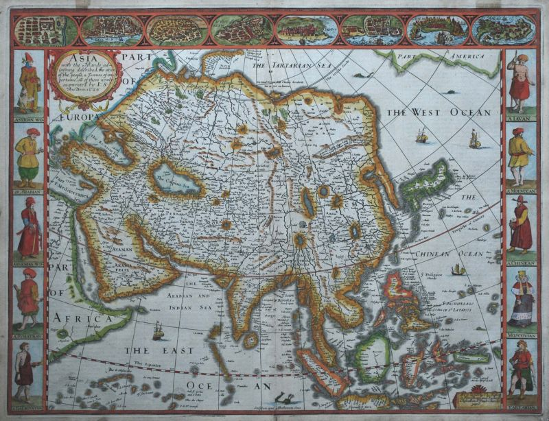 Asia With The Islands Adioyning Described
