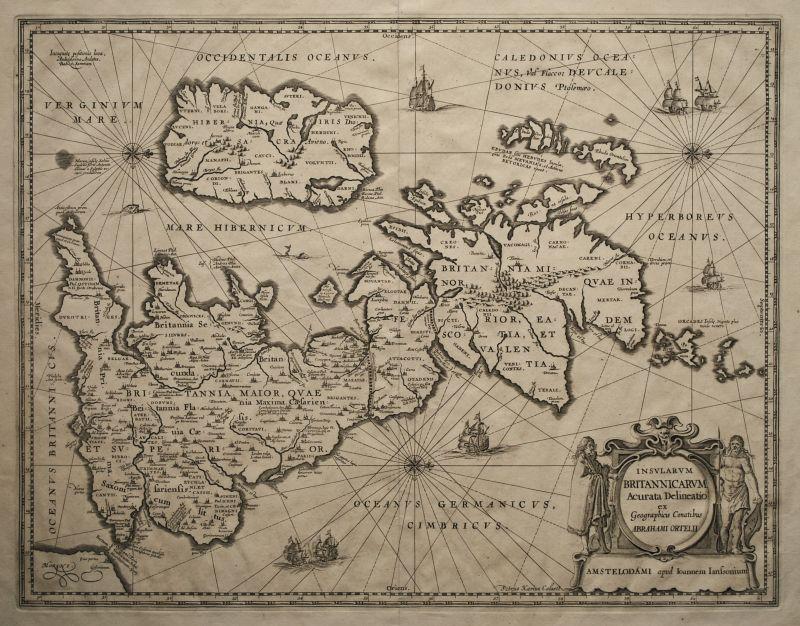 Insularum Britannicarum Acurata Delineatio…