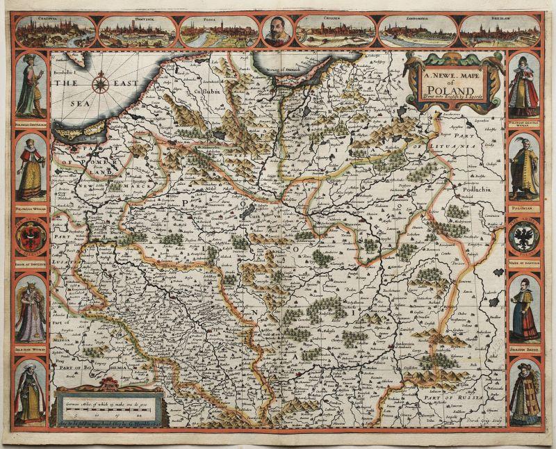 A Newe Mape of Poland