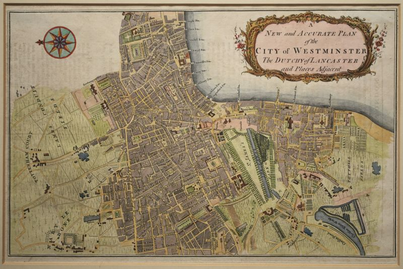 A New and Accurate Plan of the City of Westminster…