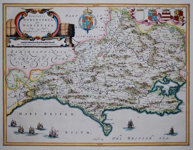 Comitatus Dorcestria, sive Dorsettia; vulgo Anglice Dorset Shire.