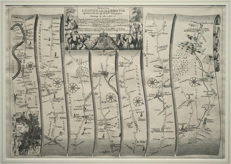 The Road from London to Bristol – Plate # 10