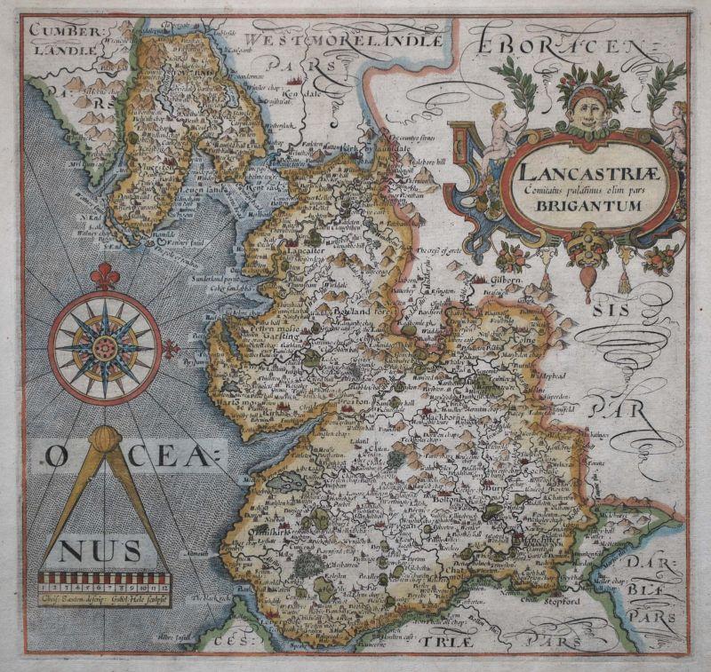 Lancastriae Comitatus Palintinus olim pars Brigantum