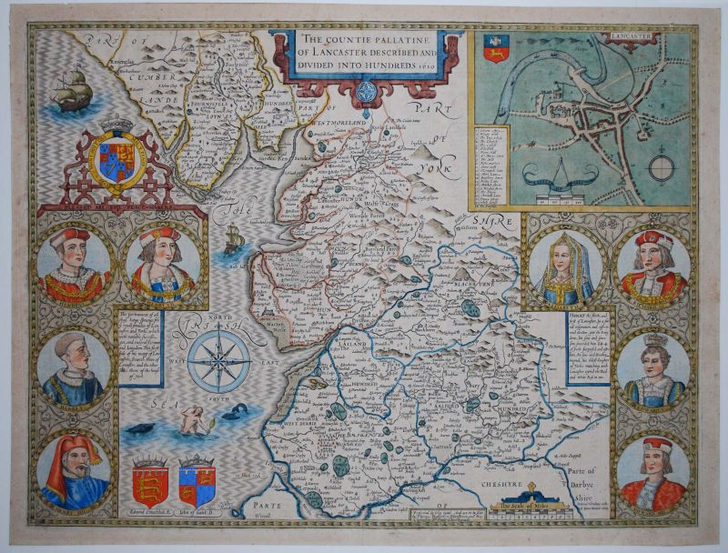 The Countie Pallatine of Lancaster Described and Divided into Hundreds