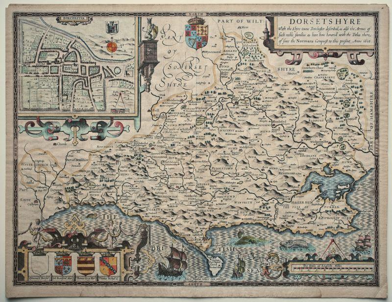 Dorsetshyre With the Shyre-towne Dorchester described…