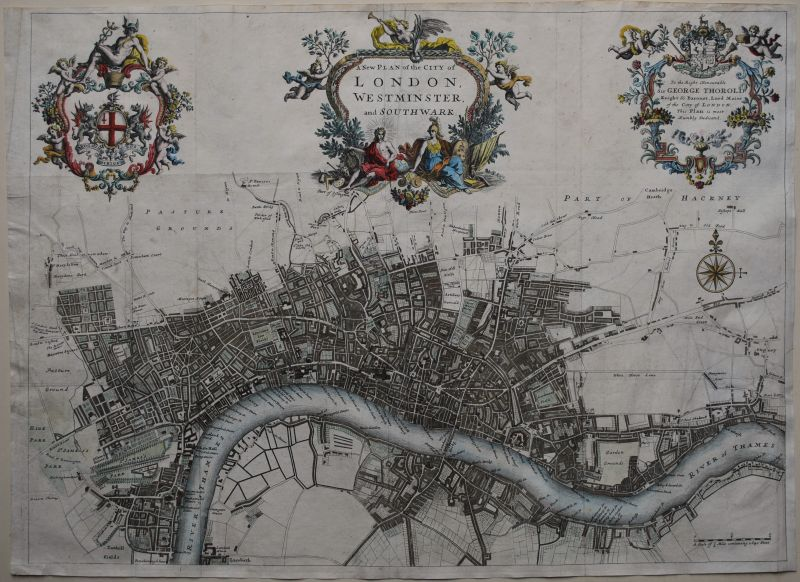 A New Plan of the City of London, Westminster and Southwark