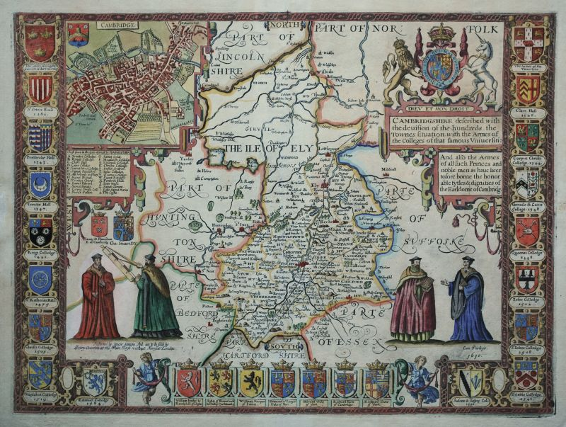 Cambridgshire described with the devision of the hundreds…