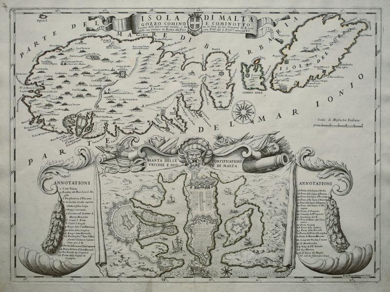 Isola di Malta Gozzo Comino et Cominotto