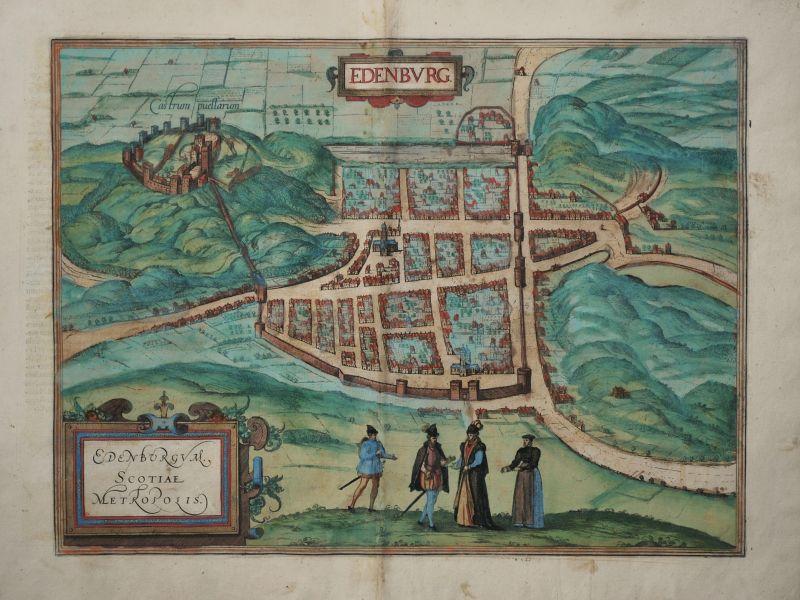 Edenburg – Edenburgum. Scotiae Metropolis.