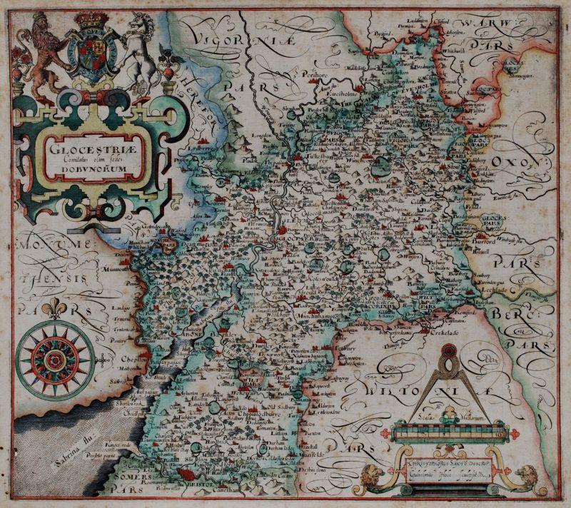 Glocestraie Comitatus olim sedes Dobunorum
