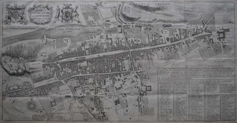 The Plan of the City and Castle of Edinburgh