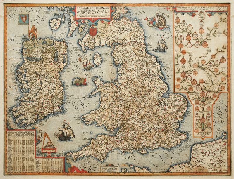 Angliae et Hiberniae Accurata Descriptio…