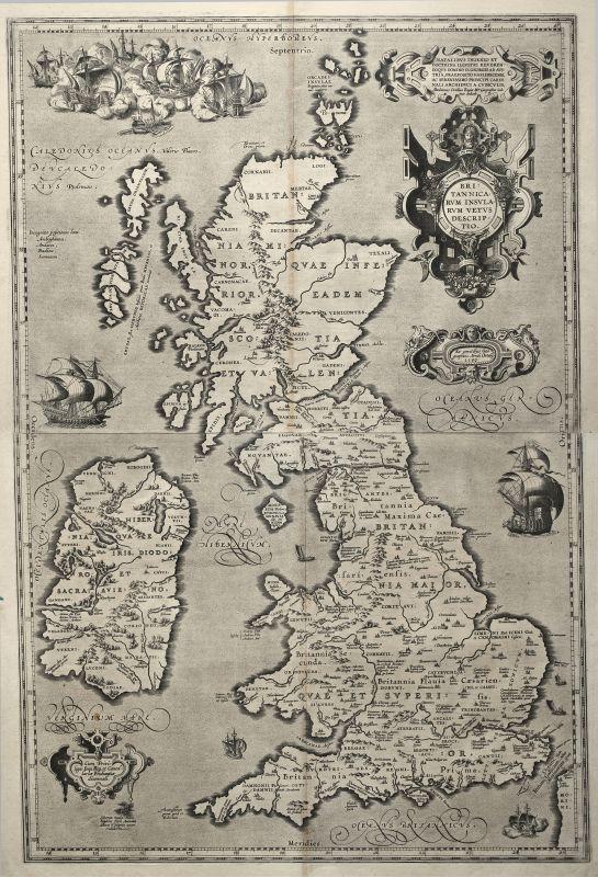 Britannicarum Insularum Vetus Descriptio.