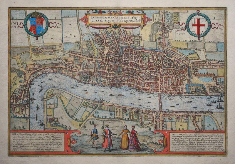 Londinum Feracissimi Angliae Regni Metropolis (2nd state)