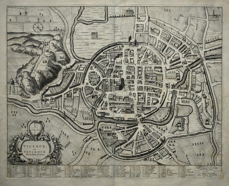 Vicence, ou Vincence. Ville de l'Etat de Venise.