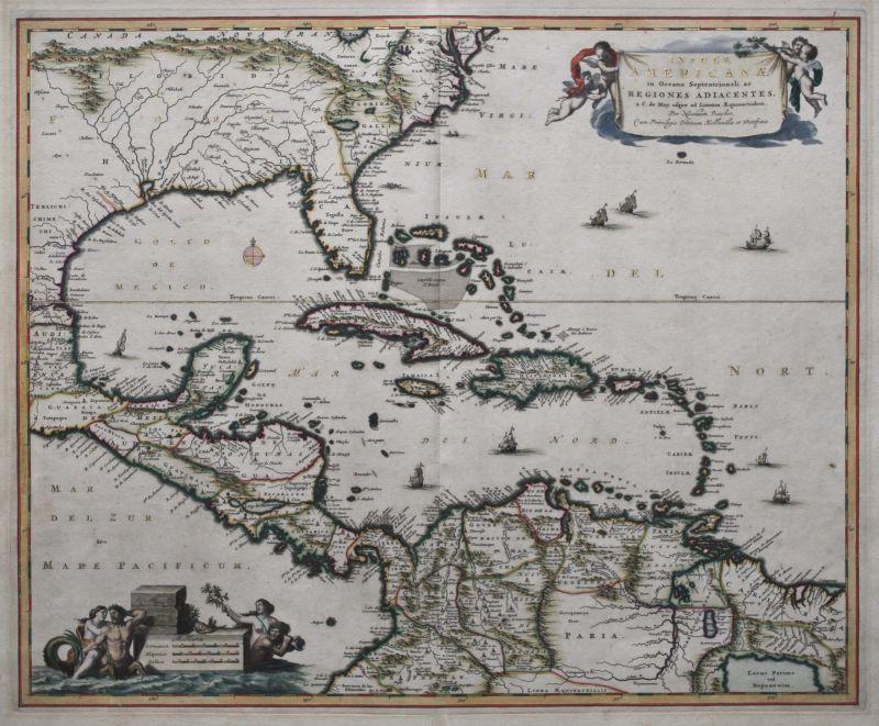 Insulae Americanae in Oceano Septentrionali…