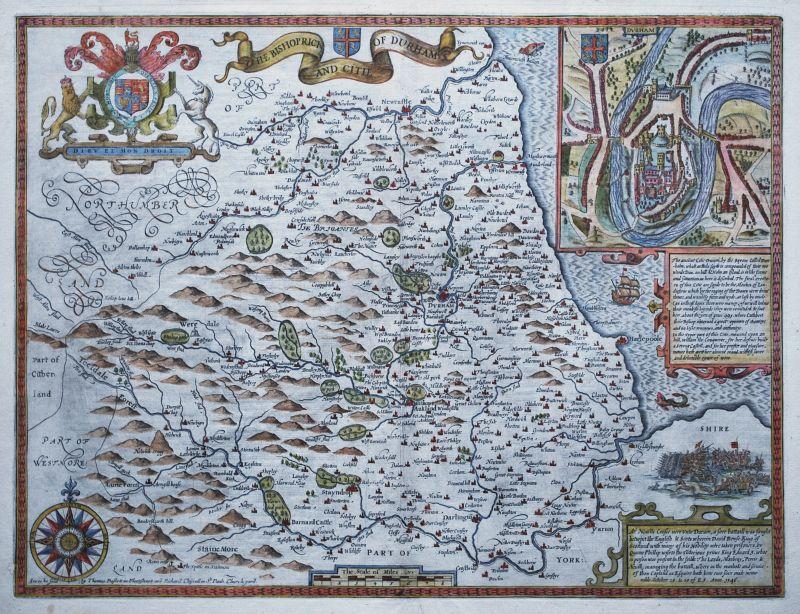 The Bishoprick and Citie of Durham