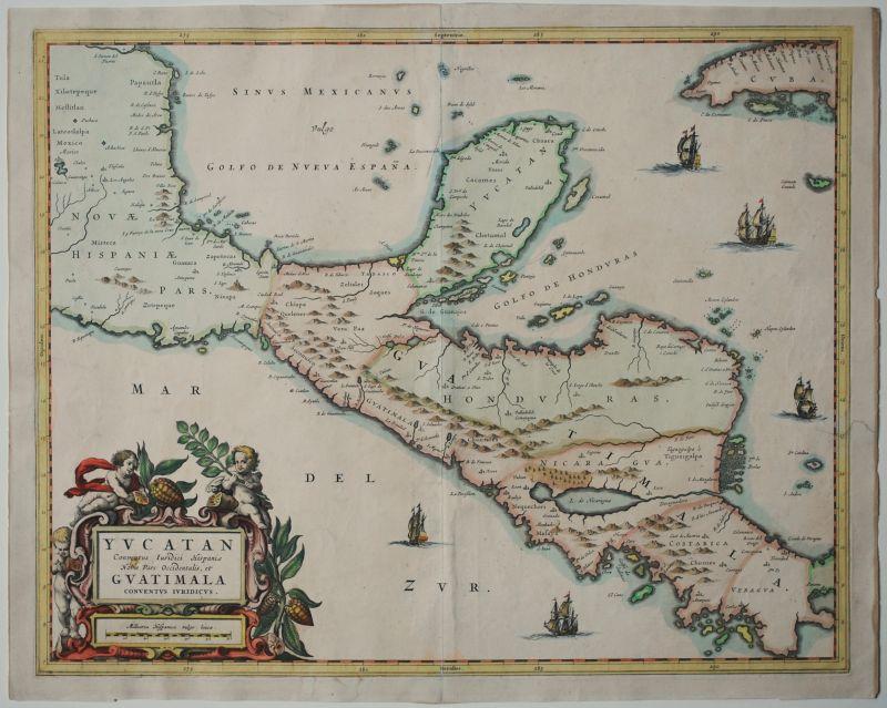 Yucatan Conventus Iuridici Hispaniae Novae Pars Occidentalis, et Guatimala Conventus Iuridicus