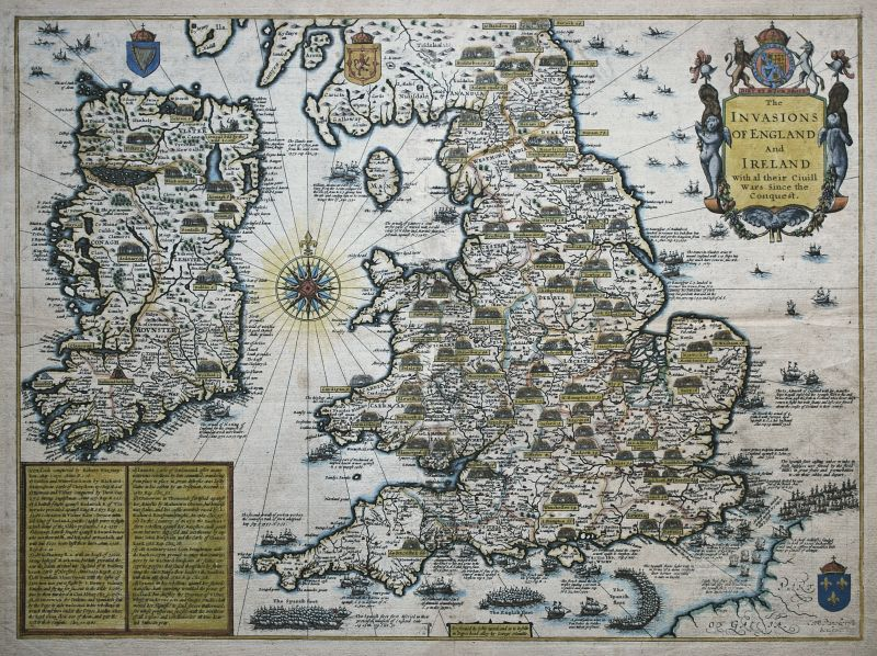 The Invasions of England and Ireland with al their Civill Wars since the Conquest