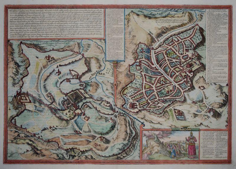 Hierosolyma, Clarissima Totius Orientis Civitas Iudaee Metropolis ...