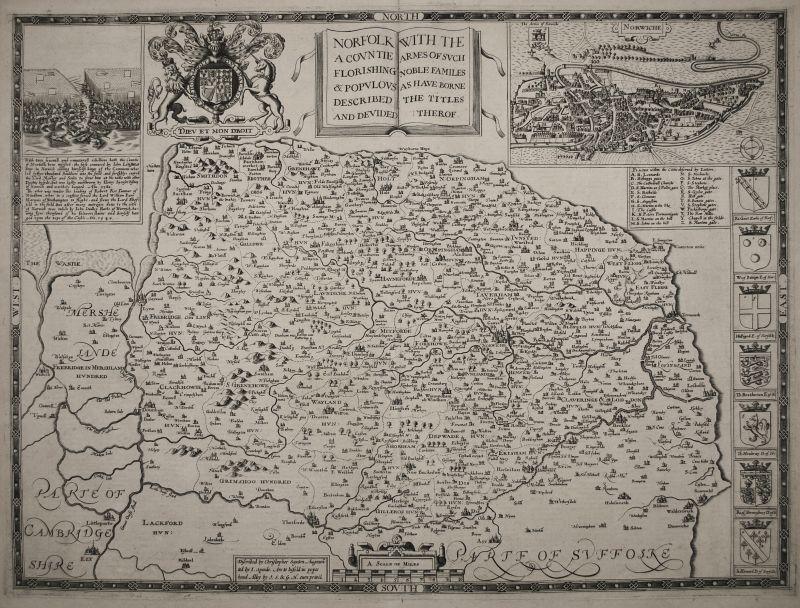 Norfolk A Countie Florishing & Populous Described…