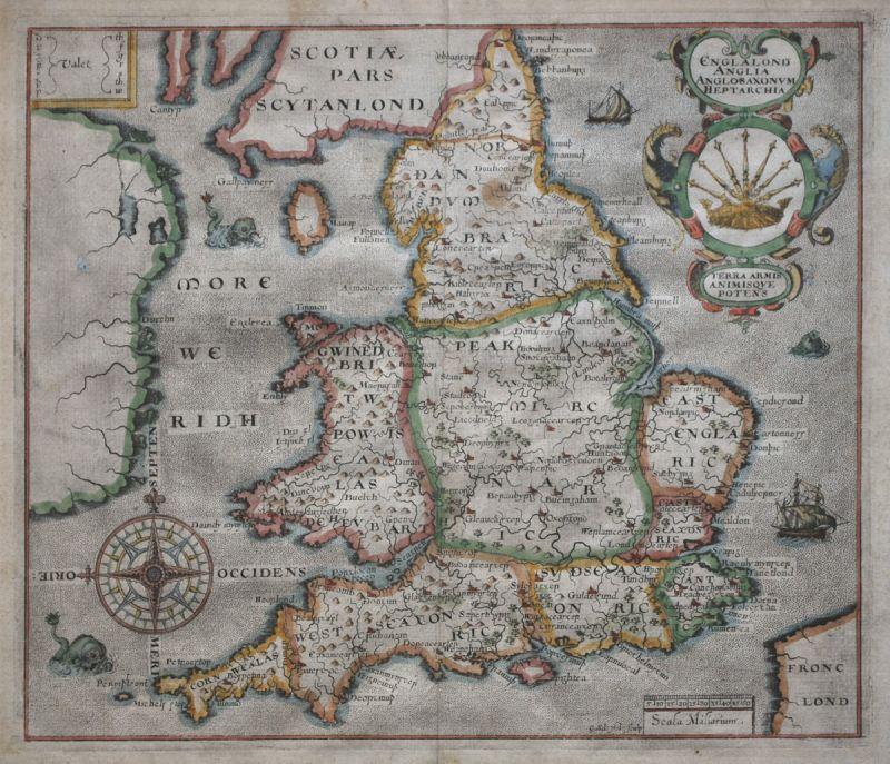 Englalond Anglia AngloSaxonum Heptarchia