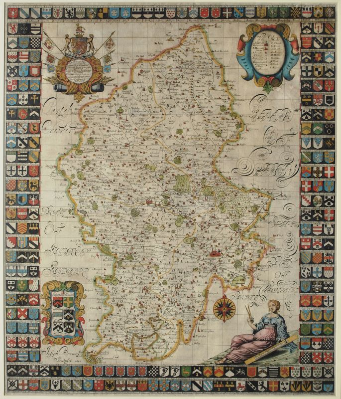This Map of Staffordshire newly delineated…
