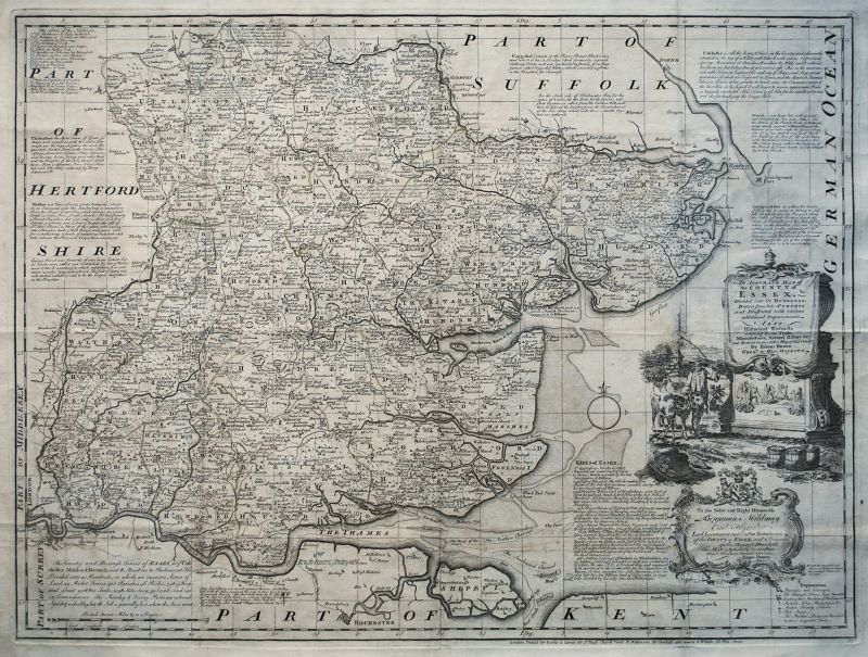 An Accurate Map of the County of Essex