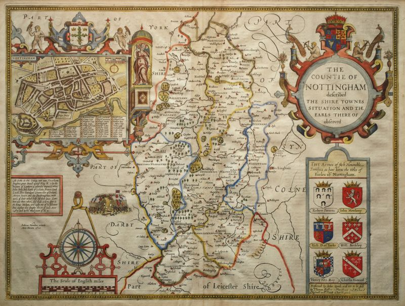 The Countie of Nottingham Described…