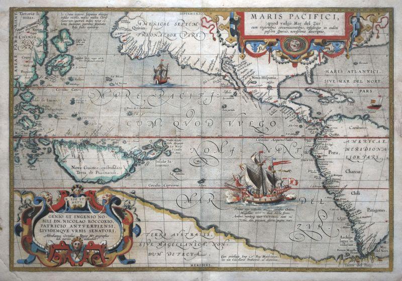 Maris Pacifici (quod vulgo Mar del Zur)…