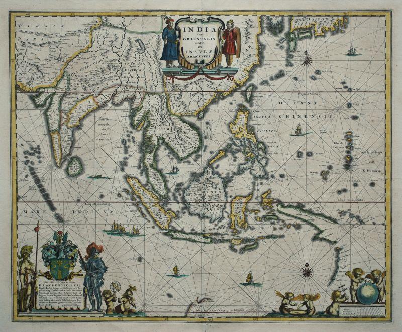 India qua Orientalis dicitar, et Insulae Adiacentes.