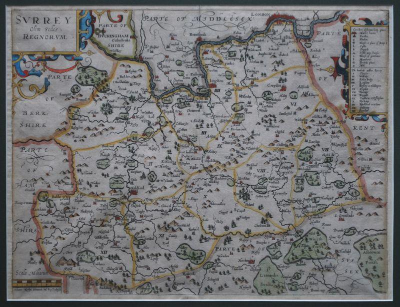 Surrey olim sedes Regnorum