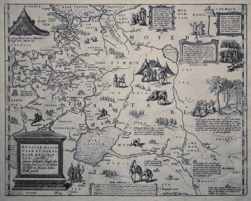 Russiae, Moscoviae et Tartariae Descriptio.