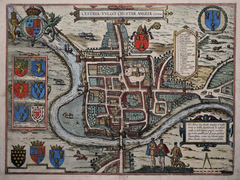 Cestria (Vulgo) Chester, Anglia Civitas