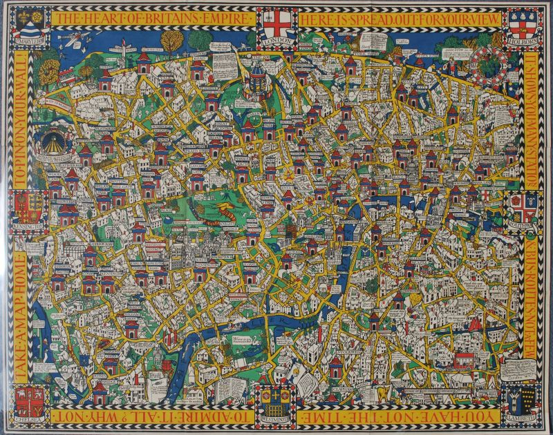 Wonderground Map of London Town