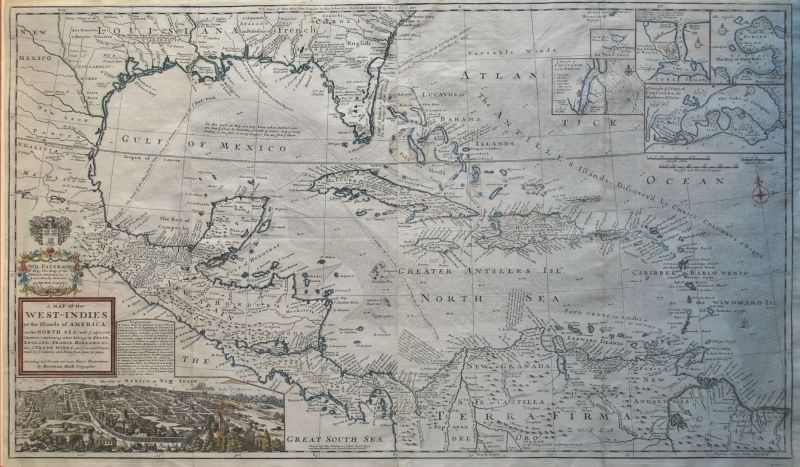 A Map of the West Indies or the Islands of America in the North Sea